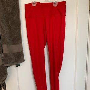 Red knockout tight